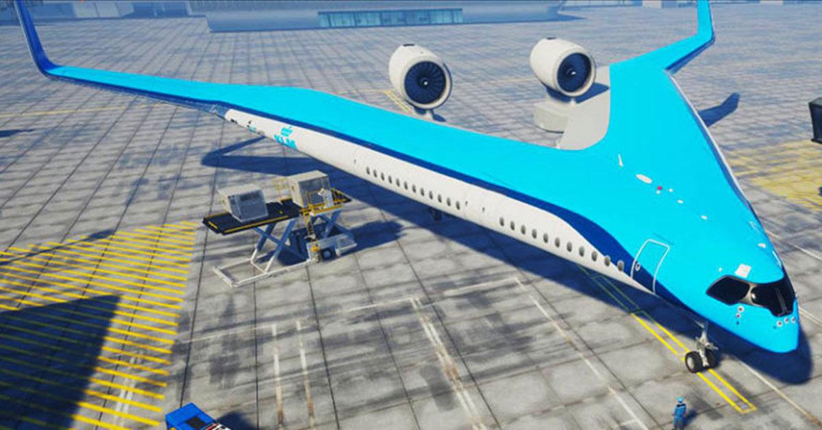 flying v plane