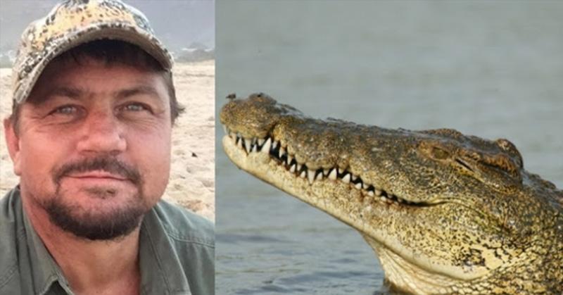poacher eaten by crocodiles