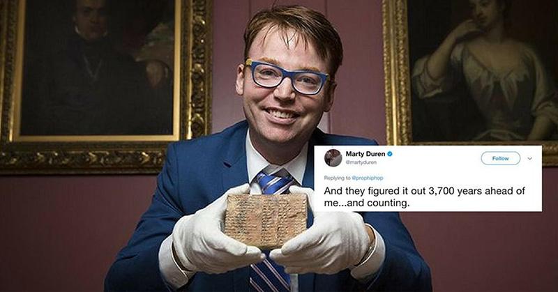 Babylonian stone tablet