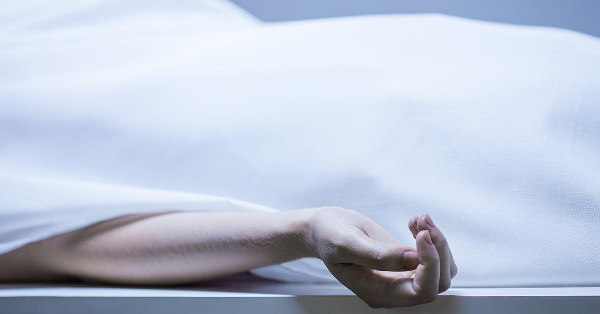 dead person's hand