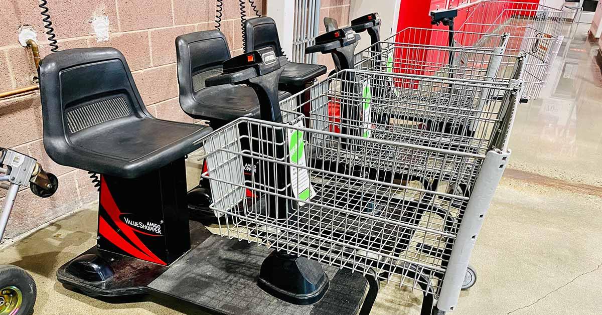 Electric shopping cart