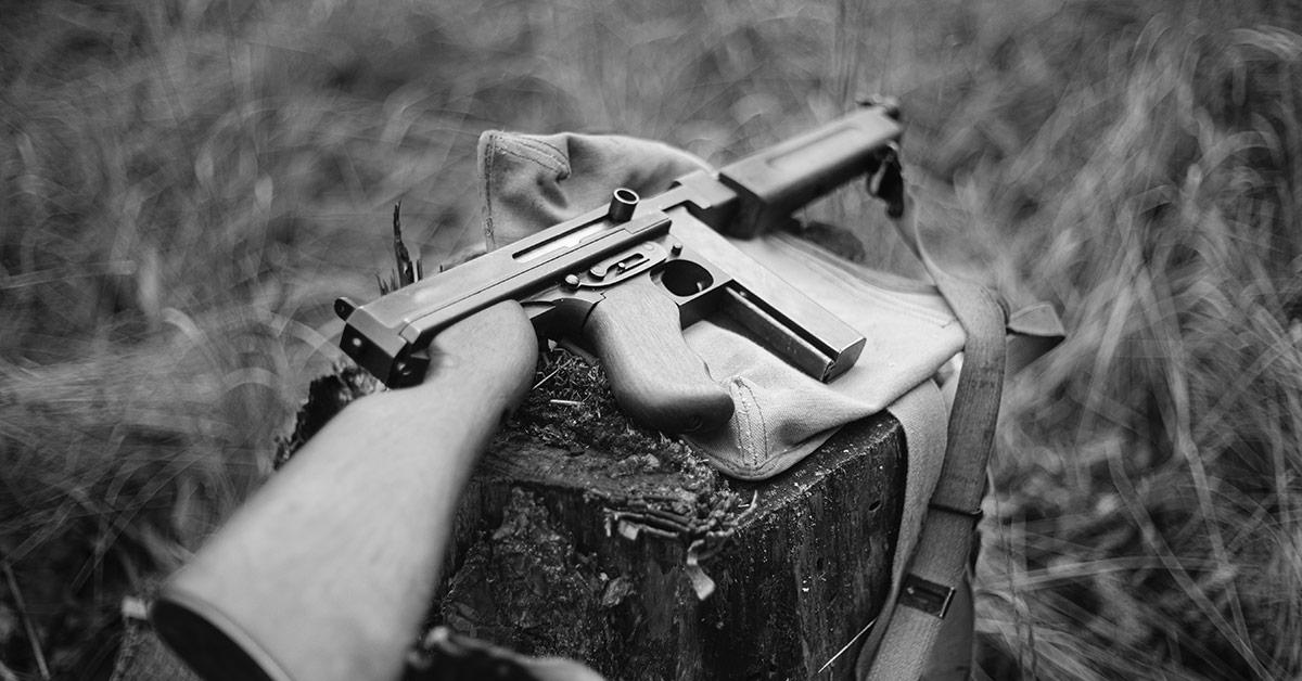 Thomson machine gun